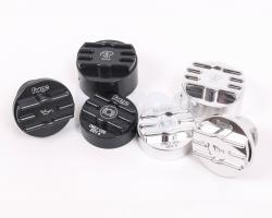 Oil, Brake Fluid, and Coolant Cap Cover Set for Peugot 208 and Mini