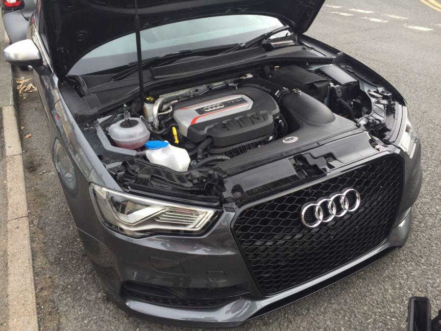 Audi mk7 s3 platform carbon intake forge motorsport