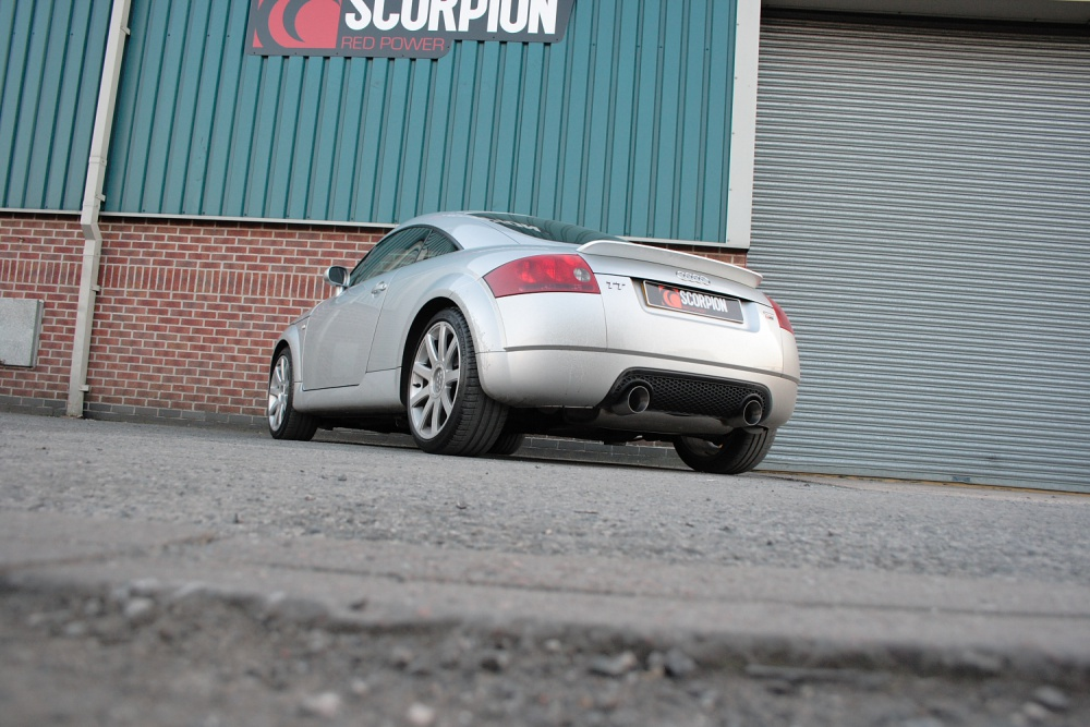 Scorpion Resonated Cat Back Exhaust For The Mk1 Audi Tt
