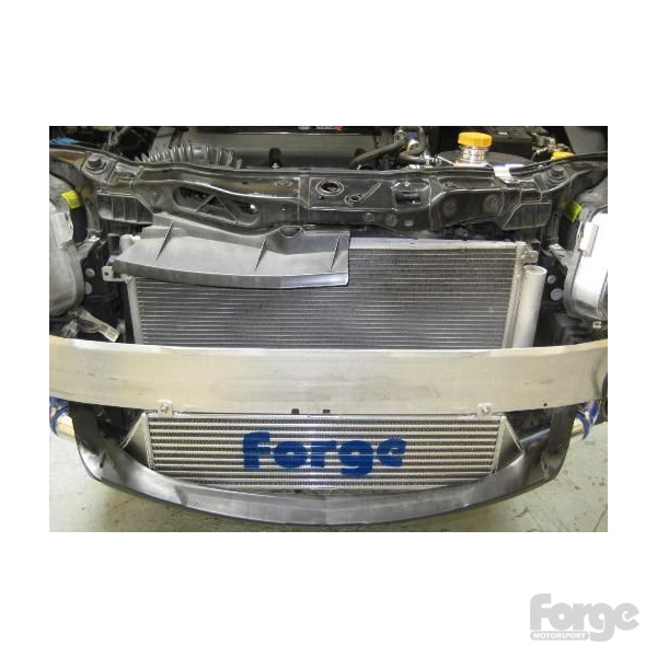 Uprated Front Mounted Intercooler For The Vauxhall Corsa