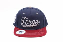 Forge Snap Back/Flat Peak Cap