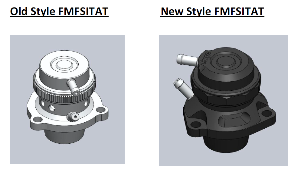 Version 2 Atmospheric & Recirculation valves for VAG 2.0 TFSI.