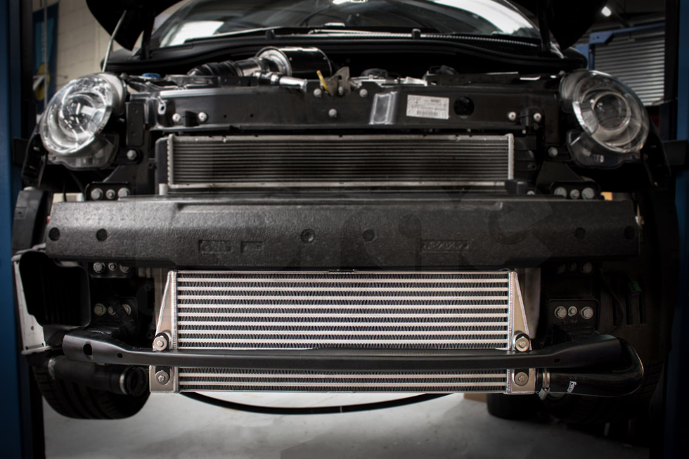 Abarth 595 Tuning Parts >> Front Mounted Intercooler Kit for the Fiat 500 Abarth T-jet | FMINTF500 | Forge Motorsport