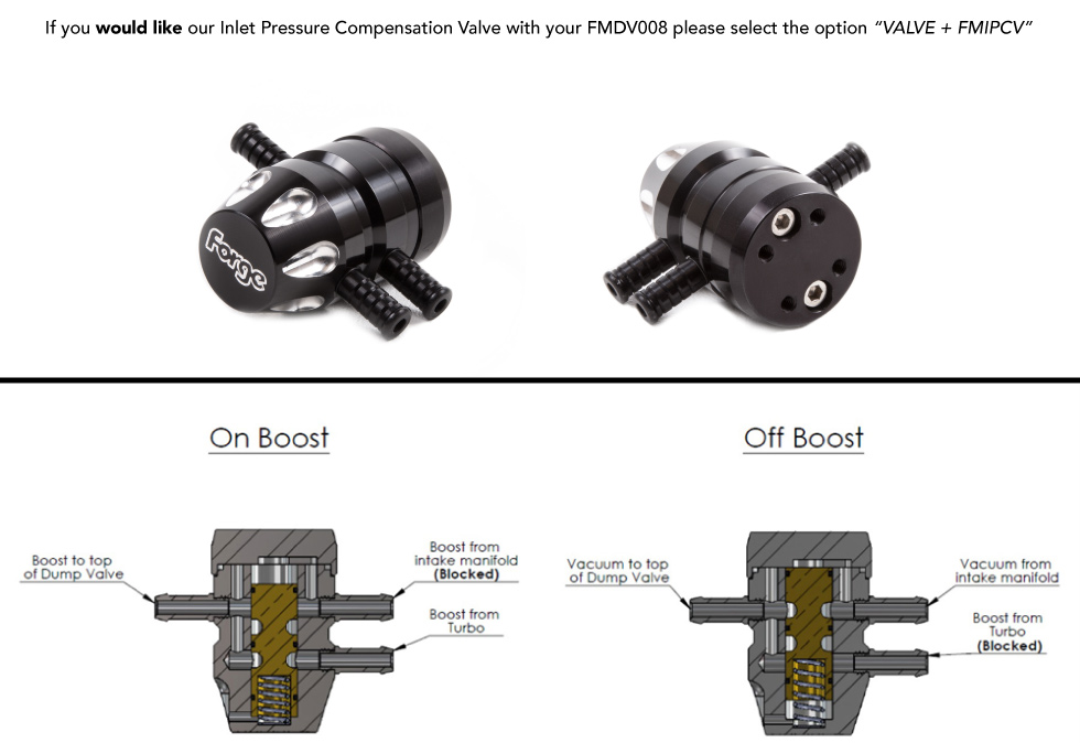 Turbo Recirculation Valve   FMDV008   Forge Motorsport