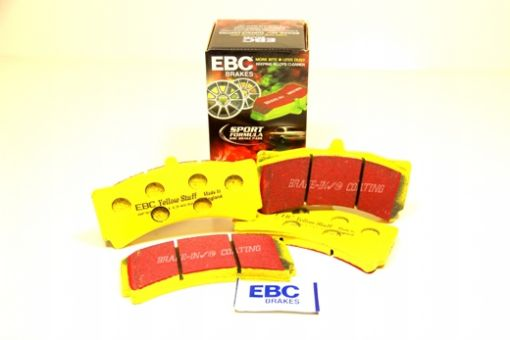 ebc yellow stuff front pads for the forge big brake kits. Black Bedroom Furniture Sets. Home Design Ideas